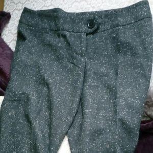 NWOT  Tweed cropped pants